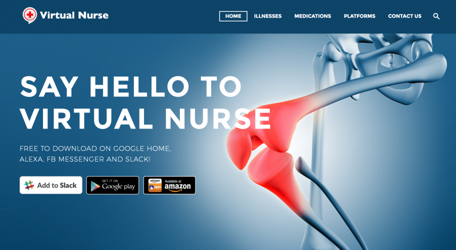 Virtual Nurse Website