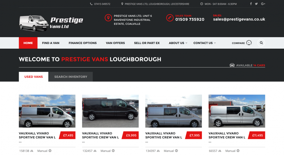 Prestige Vans