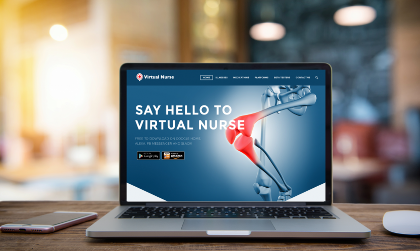 Virtual Nurse Website