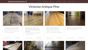 reclaimed floorboards website portfoliop