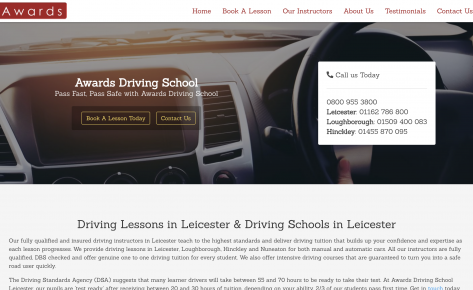 Awards Driving School