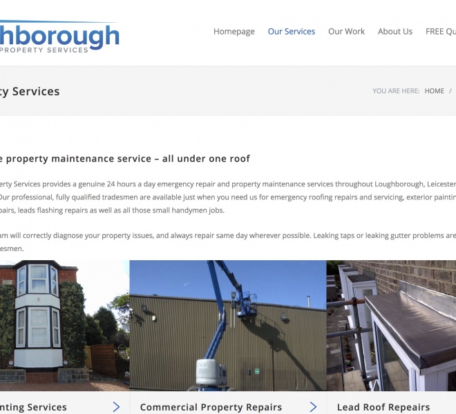 loughborough property services