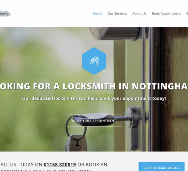 locksmiths nottingham portfolio item