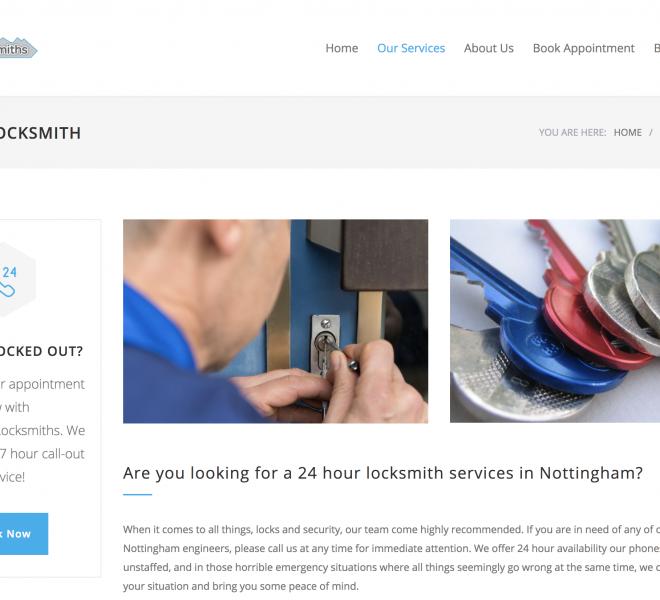 locksmiths nottingham portfolio