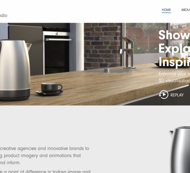 visario studios website development portfolio
