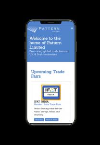 Pattern Screenshot on Iphone