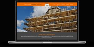 leeds scaffolding site on macbook