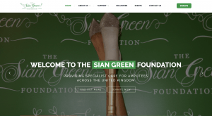 sian green website design project