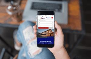 ast letting website portfolio cover