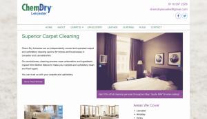 chemdry website porfolio item