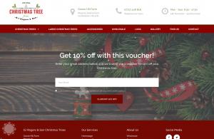 real christmas tree farm website portfolio