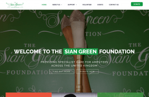 sian green foundation website portfolio