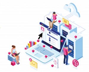website hosting graphic